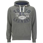 Tokyo Laundry Men's Sabian Hoody - Mid Grey Marl