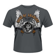 Sons Of Anarchy Men's T-Shirt - Winged Reaper