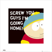 South Park Cartman - 40 x 40cm Print