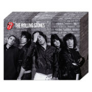 The Rolling Stones Group 2 - 50 x 40cm Canvas