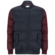 55 Soul Men's Washington Jacket - Navy/Burgundy