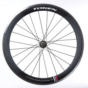 Token 55mm Carbon/Alloy Clincher Wheelset