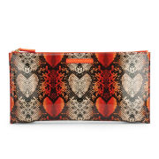 Marc by Marc Jacobs Annabelle Snake Print Clutch Bag - Infra Red Multi