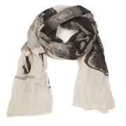 Only Women's Betty Dog Scarf - Cloud Dancer