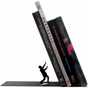 Falling Bookend - Black