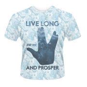 Star Trek Men's T-Shirt - Prosper - White