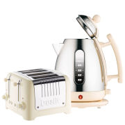 Dualit Jug Kettle and 4 Slot Toaster Bundle - Cream
