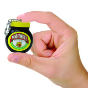 Mini Marmite Jar Key Ring