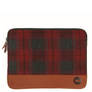 Mi-Pac Laptop 13 Inch Plaid Tablet Case - Red