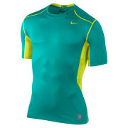 Nike Men's Hypercool Fitted Short Sleeve Top 2.0 - Turbo Green