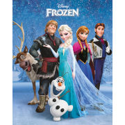 Frozen Group Mini Poster (40 x 50cm)