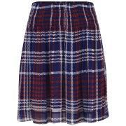 Baum und Pferdgarten Women's Saffi Checked Skirt - Navy/Red
