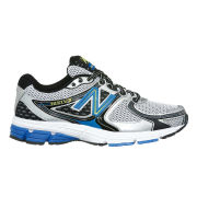 New Balance Men's Fitness M680SB2 Trainers - Silver/Blue