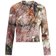 Carven Women's Tree Printed Sweater - Multi