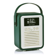 View Quest Retro Mini Bluetooth DAB+ Radio - Emerald Green