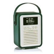 View Quest Retro Mini Bluetooth DAB+ Radio - Emerald Green