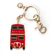 Aspinal of London London Bus Keyring - Red