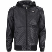 Ecko Men's Coco Quilted Leather Look Jacket - Black
