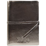 Barbara Wiggins Diary 2014 - Metallic Pewter