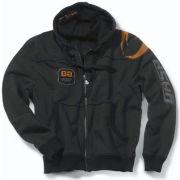 GASP Gym Hood Jacket - Black