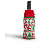 Festive Christmas Jumper Wine Wollies