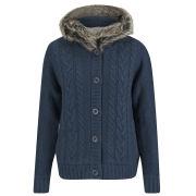 Tokyo Laundry Women's Elderflower Knitted Jacket - Dark Denim