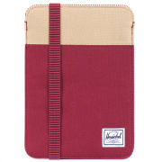 Herschel Cypress iPad Mini Sleeve - Burgundy/Khaki