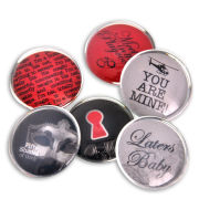 Fifty Shades of Grey Set of Six Glass Magnets