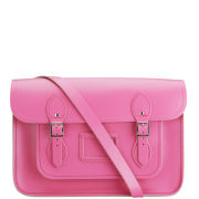 Cambridge Satchel Company 14 Inch Leather Satchel - Orchid