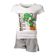 Yoshi - T-Shirt Women's Shortama (White)