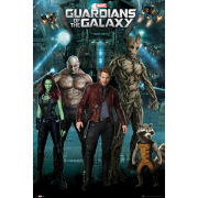 Guardians of the Galaxy Group - Maxi Poster - 61 x 91.5cm