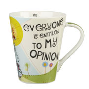 My Opinion Flight Mug