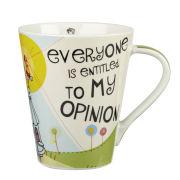 My Opinion Flight Mug