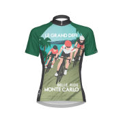 Primal Women's Le Grand Short Sleeve Jersey - Green/Blue/Pink/Black/White