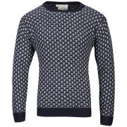 Brave Soul Men's Charles Jumper - Navy