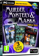 Murder, Mystery and Masks: Triple Pack