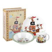 Little Rhymes Pirates 3 Piece Melamine Set Gift Box - Multi
