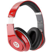 Beats by Dr. Dre: Studio Noise Cancelling HD Headphones with Microphone - Red