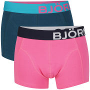 Bjorn Borg Men's 2-Pack Boxer Shorts - Shocking Pink