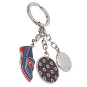 Tommy Hilfiger Women's Penny Loafer Keyfob - Midnight/Red