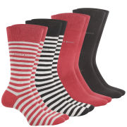 BOSS Hugo Boss Men's 4-Pack Socks - Multi - One Size