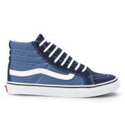 Vans Women's Sk8-Hi Slim Trainers - Navy/True White