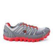 K-Swiss Men's Vertical Calamari Running Shoes - Grey/Red