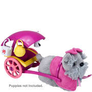 Zhu Zhu Pets Puppies Push Along - Bow Wow Buggy