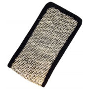 Hydrea London - Black Elegance Sisal Body Mitt