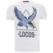 Ringspun Men's Warning T-Shirt - White