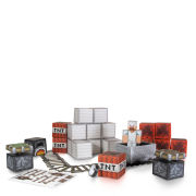 Minecraft Papercraft Over 48 Piece Set - Minecart Pack