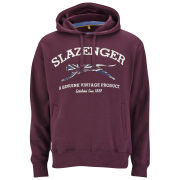 Slazenger Men's Sansom Over the Head Hoody - Damson