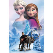 Frozen Collage - Maxi Poster - 61 x 91.5cm