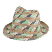 French Connection Women's Brogan Hat - Midori/Barley Sugar